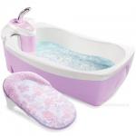 Chậu tắm Spa có vòi hoa sen Summer màu tím